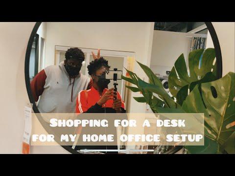 SHOPPING FOR MY HOME OFFICE SETUP AT IKEA WINNIPEG