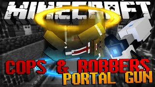 Minecraft Modded Cops and Robbers Portal Mod w/ JeromeASF & Friends