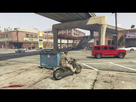 GTA V - buying a plane and then cruising my bike out for supplies - WAYNE GROW INDUSTRIES - RP LP 42