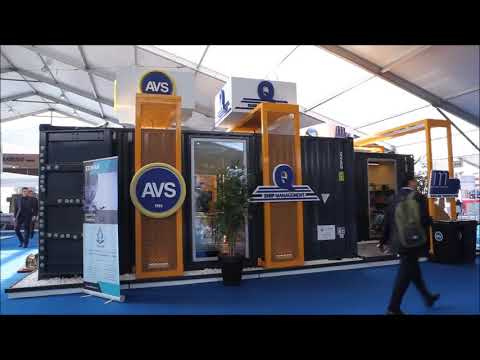 Expomaritt Exposhipping 2017 -  AVS Ship Supply Stand
