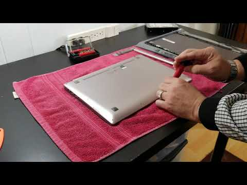 Opening an Asus UX303L laptop to replace LCD Assembly and expose main components