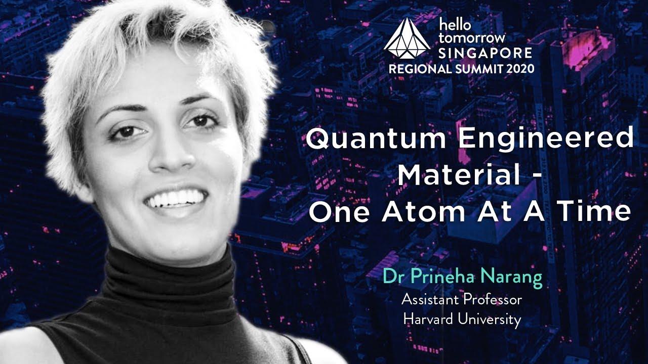 Quantum Engineered One Atom at a Time | Dr. Prineha Narang