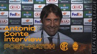 INTER 5-0 SHAKHTAR | ANTONIO CONTE INTERVIEW: