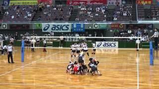 第64回黒鷲旗 NECレッドロケッツ×日本体育大学 2/3