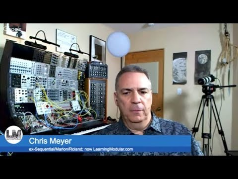 The SynthSummitShow ep: 21 Chris Meyer (LearningModular.com and Sequential Circuits)