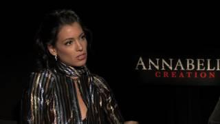 "Stephanie Sigman, Director David F. Sandberg Talk About ""ANNABELLE: CREATION"""