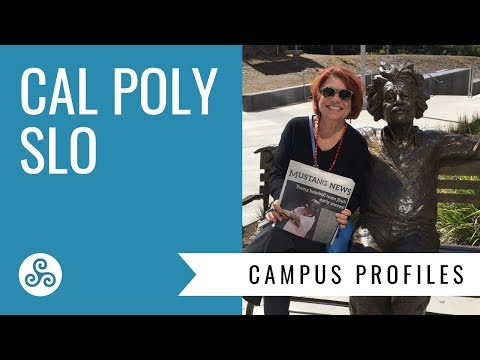 Cal Poly San Luis Obispo - campus visit and overview by American College Strategies