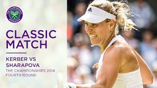 Angelique Kerber vs Maria Sharapova | Wimbledon 2014 fourth round | Full Match Replay