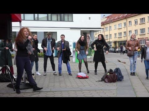 Lungset - Lagu Banyuwangi Penyanyi Jalanan Keren Abiss
