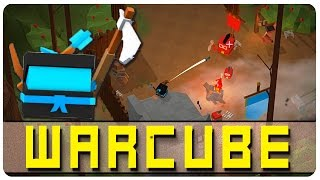 Building Our Cube Army + Spoopy Lost Forest! - Warcube Gameplay | Let