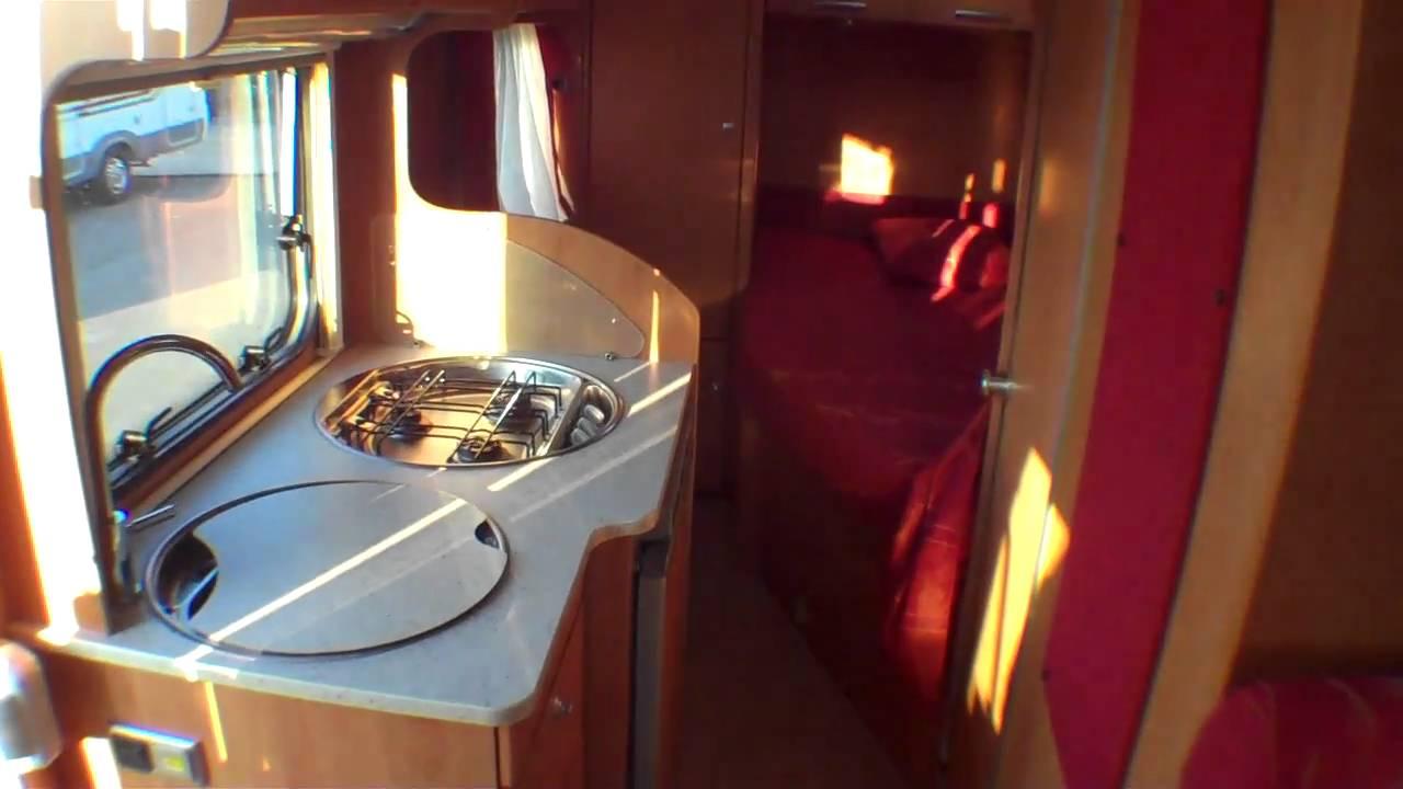 occasion pro camping car eriba van 576 profile 2007 lyon 69 rhone saint priest 69800 youtube. Black Bedroom Furniture Sets. Home Design Ideas