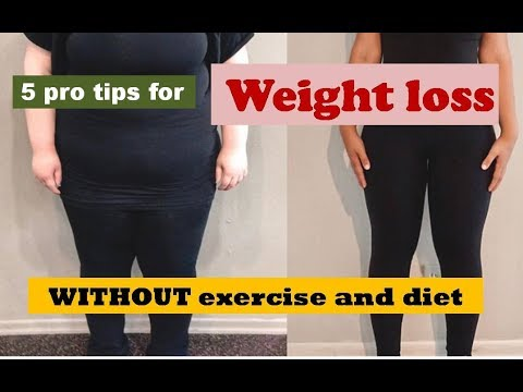 How To Lose Weight Without Exercise And Diet In Urdu Hindi Youtube