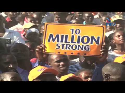Raila promises to restore order in Baringo in 90 days if elected
