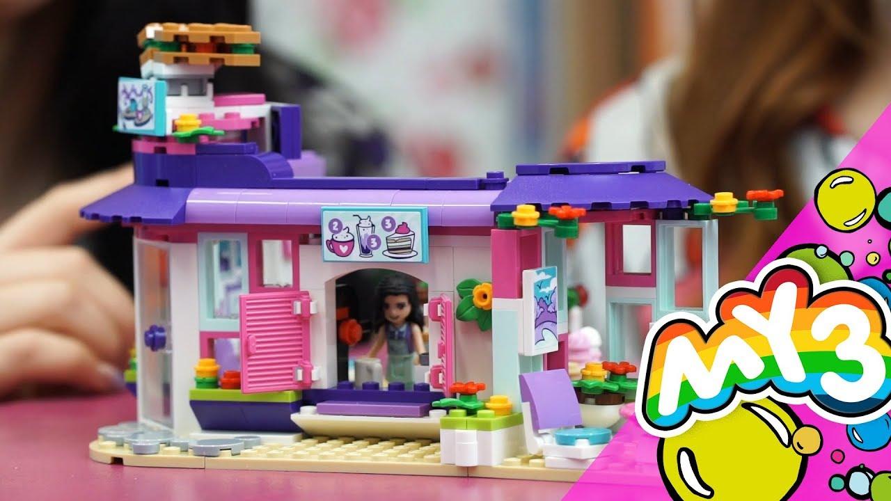 Lego Friends Artystyczna Kawiarnia Emmy 41336 Youtube