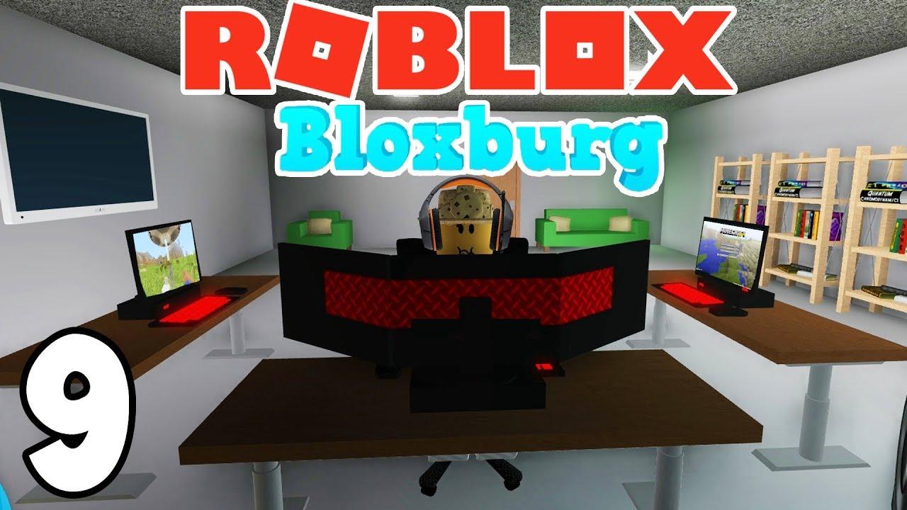 My New Gaming Setup Roblox Bloxburg Ep 9 Youtube