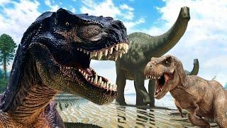 СБОРНИК. Динозавры для детей. Мультфильмы на русском языке 2017г. Детский канал