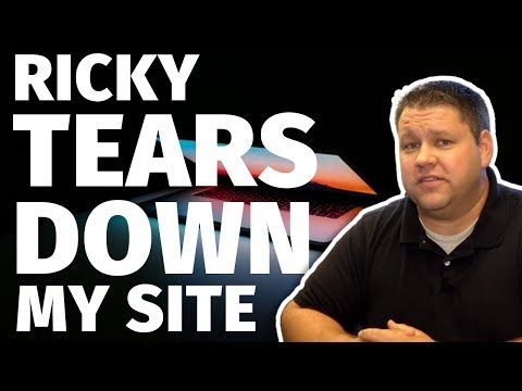 Ricky from INCOME SCHOOL TEARS DOWN my Affiliate Marketing Website thumbnail