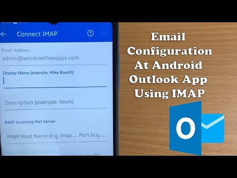 How to Setup Outlook on Android Phone 2021