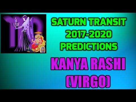 Kanya Rashi - Saturn Transit 2017-2020 Predictions | Virgo Shani Gochara Phala
