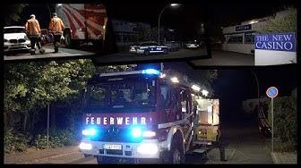 [Seltsamer Einsatz in der Nacht] - NEBEL im CASINO - Feuerwehr & Polizei vor Ort - [E]