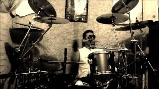 "Staying Alive - Tommy Faragher - ""We Dance So Close To The Fire"" - drum cover by Ricardo Morales"