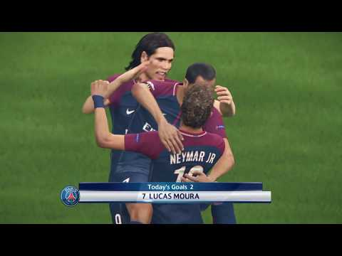 Pro Evolution Soccer 2018 UEFA Champions League Final PS4 Gameplay - PSG vs. Manchester United
