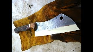 Making a cleaver from a leaf spring - Part 1