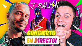EL CONCIERTO DE J BALVIN EN FORTNITE!!   Ampeterby7