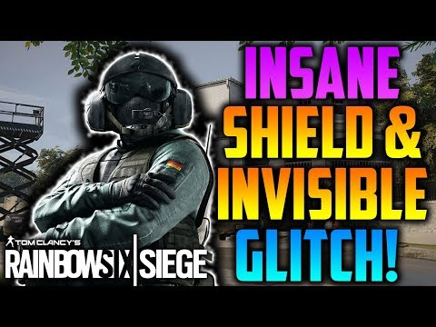 INSANE *NEW* OP INVISIBLE & SHIELD GLITCH! *AFTER PATCH* - Rainbow Six Siege