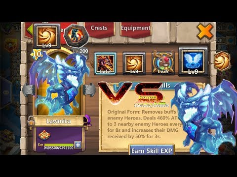 9 Sacred Light | Stone Skin | Lavanica | VS | 9 Revive | Castle Clash