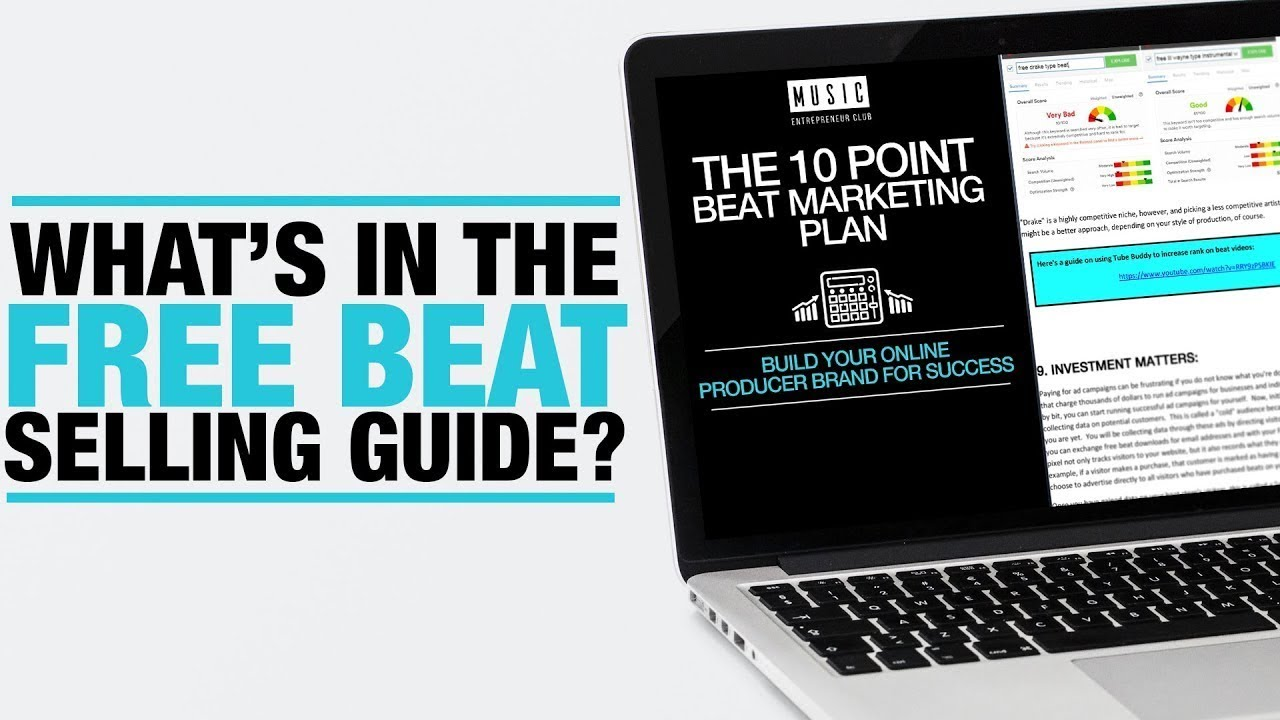 Free Beat Selling Guide - How To Make Money Selling Beats Online 2019