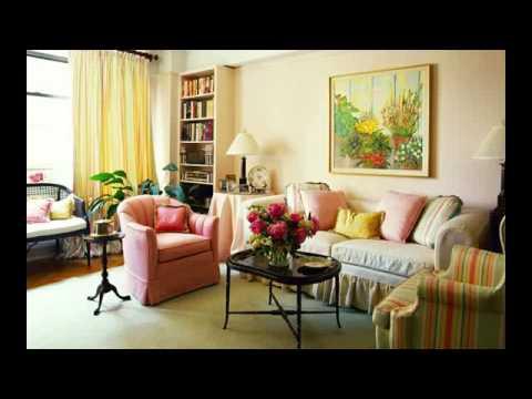 bohemian style living room decor - YouTube