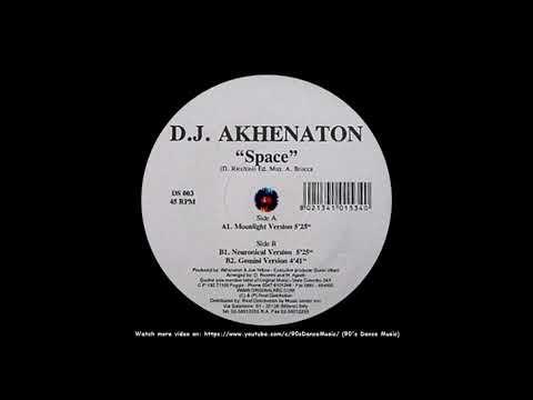 D.J. Akhenaton - Space (Moonlight Version) (90's Dance Music) ✅