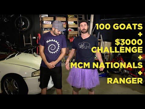 100 Goats + $3000 Challenge + MCM Nationals + Ranger