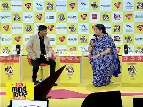Lessons From The Minister | Smriti Irani Exclusive At India Today Mind Rocks 2017