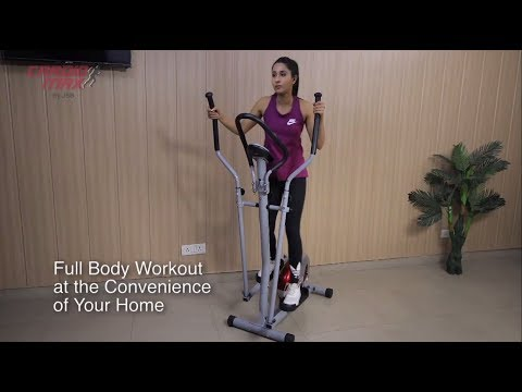 Cross Trainer Elliptical Exercise Cycle India Cardio Max JSB HF147
