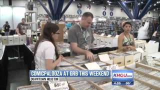 Scifi fans head downtown for Comicpalooza