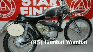 Hodaka (95) Combat Wombat Model Specificiations