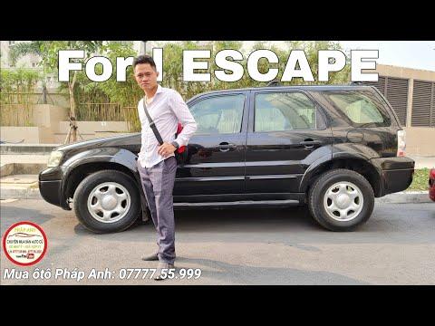 Ford Escape 2004 cần bán gấp giá xã kho 1xx  (0777755999) xem xe Sài Gòn
