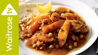 Spiced Vegetable Tagine with Chickpeas