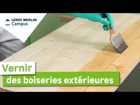 Comment Vernir Des Boiseries Extérieures Leroy Merlin