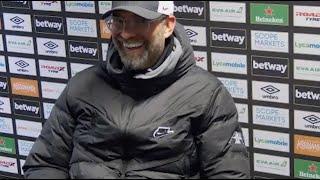 КЛОПП про разговор с МИЛНЕРОМ результативные замены и голы МО Вест Хэм 1 3 Ливерпуль