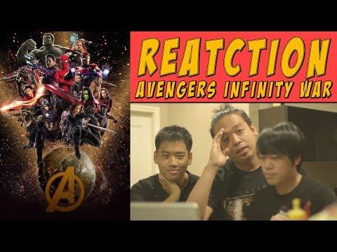 Reaction Avengers Infinity War Trailer | TOP, P, Mike |