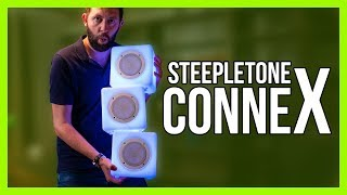 Steepletone Cube ConneX - Incredible Party Speakers!