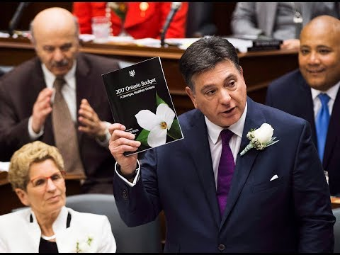 Ontario Liberal government delivers budget