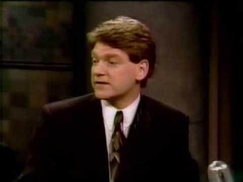 Kenneth Branagh on Letterman 1991