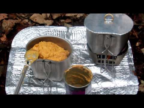 lunch in the woods with the BCB Crusader cook kit