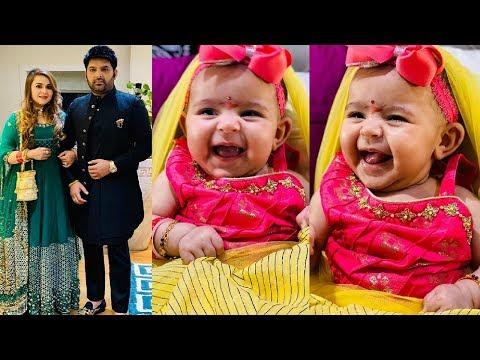 Kapil Sharma Daughter Anayra Sharma's CUTEST Smile Doing Ashtami Pooja🙏