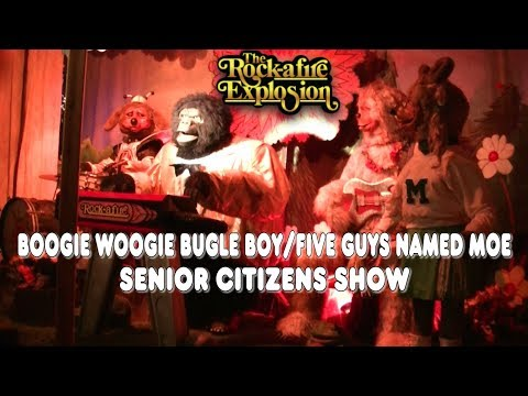 "Rock-afire Explosion - ""Boogie Woogie Bugle Boy/Five Guys Named Moe"""