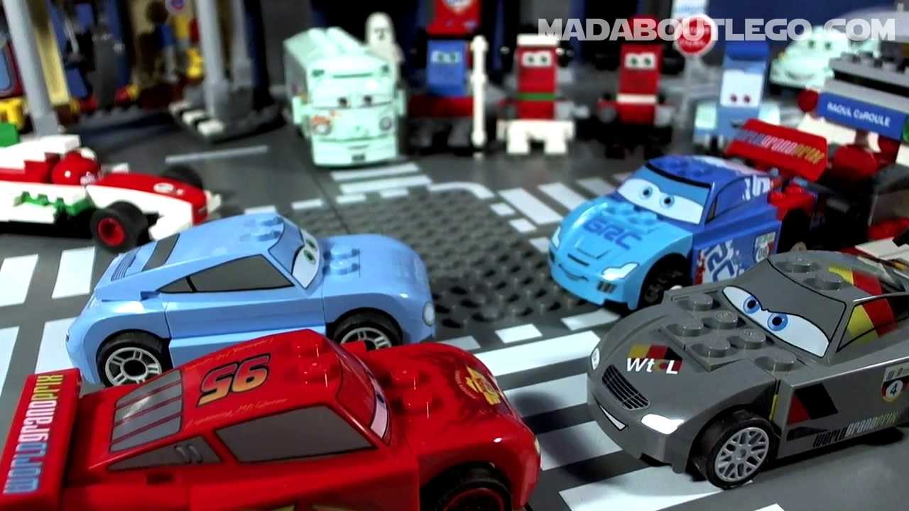 Lego Disney Cars Ultimate Race Set Youtube